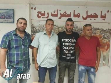 كابتن منتخب فلسطين هيثم ذيب يترك شباب الخليل