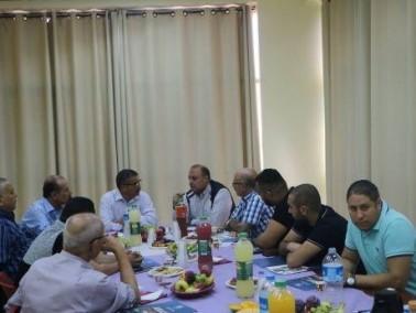 رهط: مدير جامعة عمان الأهلية يزور الجماهيري