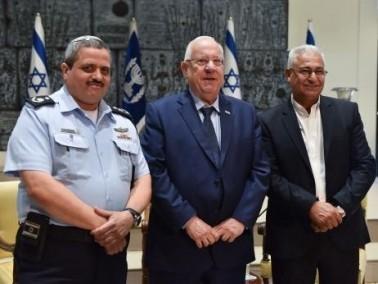 غنايم يلتقي رئيس الدولة ومفتش الشرطة العام