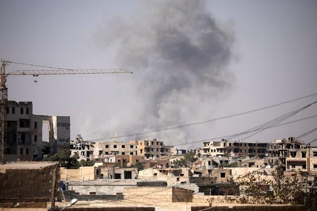 السفارة الروسية في دمشق تتعرض للقصف من قبل جماعات مسلحة