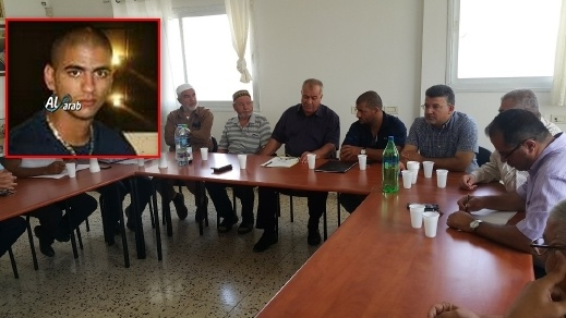 المتابعة تستقبل عائلة الشاب المغدور من يافا