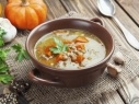 شوربة الأرز بالخضروات الشهية