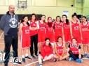 ثلاث لاعبات من فتيات مجد الكروم بكرة السلة ضمن منتخب اسرائيل الى صربيا