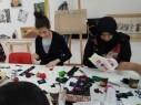 فتيات باقة الغربية تنسجن التراث الجميل في ورشة التطريز الفنية الثانية