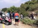 اصابة شخصين بجراح متفاوتة في حادث بين بسمة طبعون وابطن