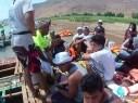 طلاب رهط يشاركون بمشروع مميز في بحيرة طبريا