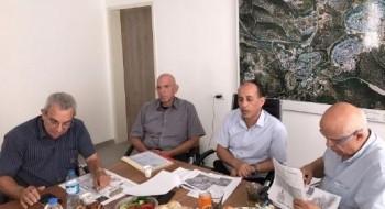 افيغدور يتسحاقي مسؤول الاسكان في وزارة المالية يزور بسمة طبعون