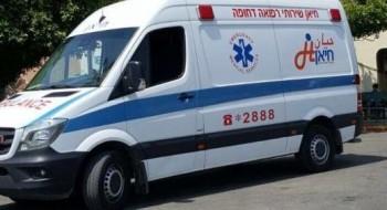 إصابة رجل (37 عامًا) جراء سقوطه عن ارتفاع في دير الأسد