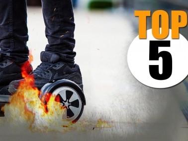 أخطر 5 حالات تسبب فيها اللوح المتحرك الى حريق