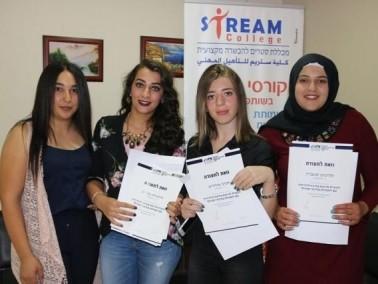 كلية ستريم سخنين تخرج كوكبة من طالباتها من دورة