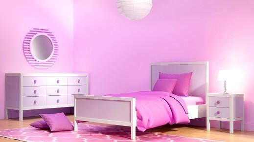 أدخلي اللون الزهري إلى غرفة نومك..صور