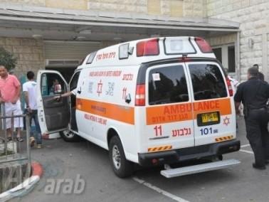 حادث طرق في كريات شمونة