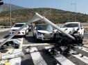 اصابة خطيرة وأخرى طفيفة في حادث مروع قرب مفرق حنانيا