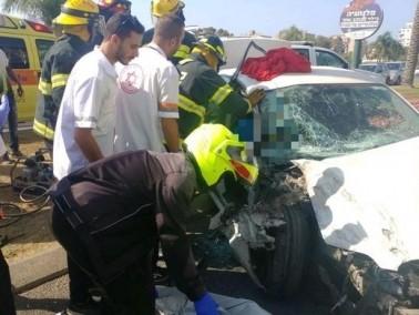 حادث طرق يسفر عن إصابتين في نتانيا