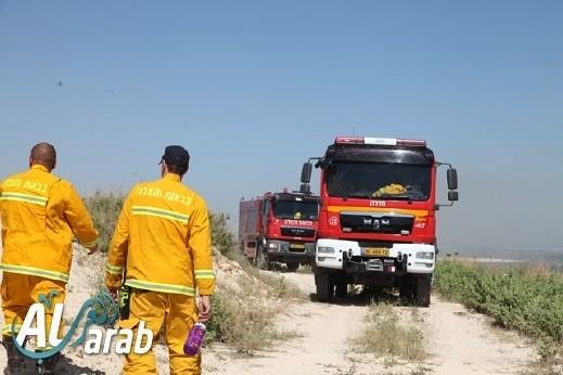 المغار: اندلاع حريق في مجمع للخردة