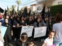 مظاهرة حاشدة في مجد الكروم احتجاجًا واستنكارًا لجريمة قتل الشابة هبة مناع