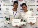أحمد سبع وخالد أبو داهود من مجد الكروم يتألقان في هاكاتون 2017