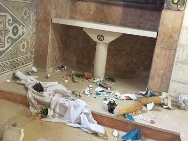 الكنائس الكاثوليكية: نستنكر الاعتداء على دير بيت جمال