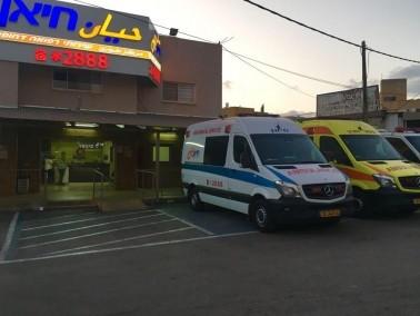 دير الاسد: اصابة شاب اثر سقوطه عن علو