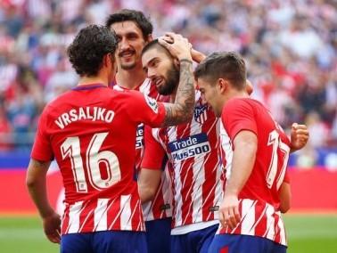 أتلتيكو مدريد يستعد لتشيلسي بثنائية في إشبيلية