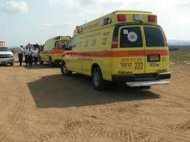 تعرض رجل للغرق في احد شواطئ قيساريا