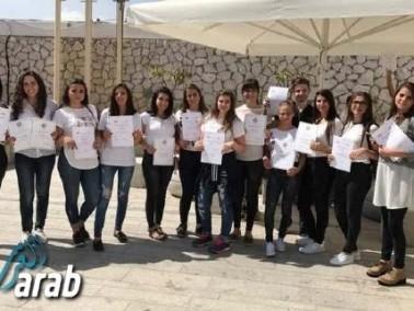 الرامة: تخرّج طلاب مدرسة حنا مويس من الاكسيس