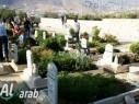 مجد الكروم :تواصل اعمال الصيانة وبناء الجدران الواقية في مقبرة الشهداء