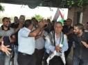 عرس وطني في بلدة جت المثلث احتفالا بحرية الأسير محمد خلف أبو التحرير