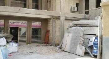 مجد الكروم: مواصلة أعمال بناء المكتبة العامة في المركز الجماهيري