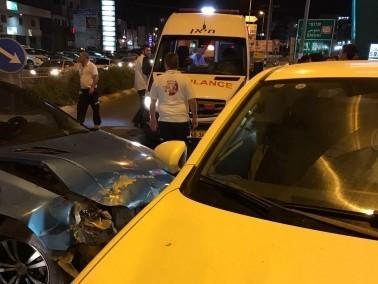 كفرياسيف: اصابة 5 اشخاص بجراح متفاوتة بحادث طرق