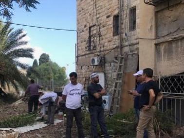 حيفا: انطلاق يوم العمل التطوعي في مقبرة الاستقلال