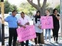 مجد الكروم: للاسبوع الثالث على التوالي وقفة احتجاجية امام مركز الشرطة
