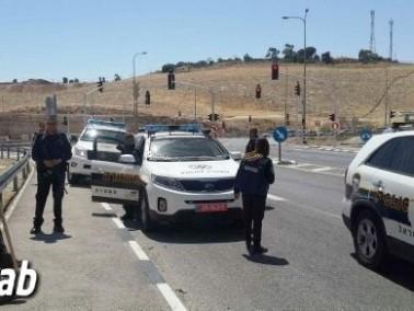 القدس: اعتقال فتى مشتبه بإلقاء الحجارة