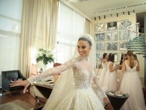 لارا اسكندر تحتفل بزفافها في ليلة اسطورية