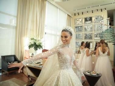 لارا اسكندر تحتفل بزفافها بليلة اسطورية