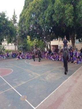 محاضرات وفعاليات في مدرسة شيخ دنون الابتدائية