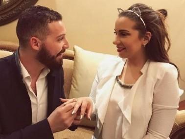 شريف منير يحتفل بخطوبة ابنته الكبرى أسما