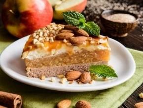طريقة تحضير كعكة التفاح بالكراميل اللذيذة