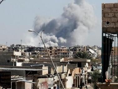 الجيش: قصفنا موقعا في دمشق