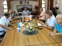 جلسة عمل لدفع مشاريع البنية التحتية بين مياهكم ومجلس الشبلي