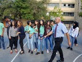 حفل توزيع كؤوس وميداليات في مدرسة العلوم والتكنولوجيا في الناصرة