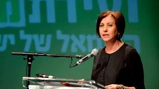 زهافا غلئون تعلن عن استقالتها من الكنيست
