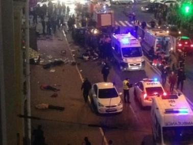مصرع خمسة اشخاص وإصابة عدد آخر في حادث دهس مروع بأوكرانيا
