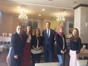 سفير هولندا يزور ام الفحم وكفر قرع للتعرف على المجتمع العربي
