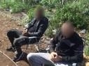 اعتقال مشتبهين بعد ضبط حقل مخدرات واسع قرب فسوطة