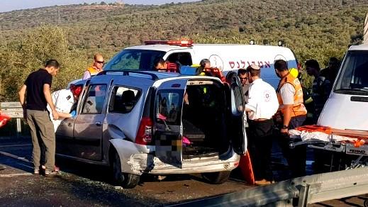 مصرع شخص وإصابة 6 آخرين في حادث قرب الضفة
