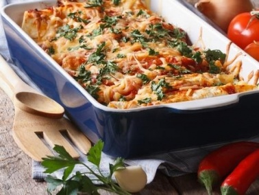 أسهل طريقة لتحضير باستا الدجاج بنكهة إيطالية