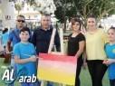 تكريم الفنانة رنين مناع والمسعفة ندى سرحان في مدرسة الخطاب مجد الكروم