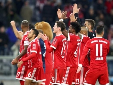 بايرن ميونيخ ينتزع صدارة الدوري الألماني
