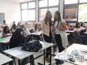 فوز الطالبة ديمة كيّال برئاسة مجلس طلّاب مدرسة البيروني الثانويّة جديدة المكر